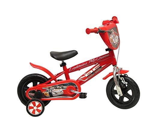 Disney 13163 Cars Cromo Bicicletas con Freno, de 10 Pulgadas*
