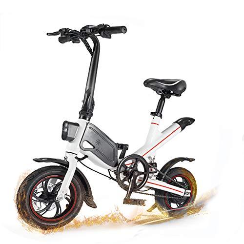 Bicicleta Eléctrica Plegable - Bicicleta Eléctrica Adultos - Motor de 350W - Iluminación LED -...*