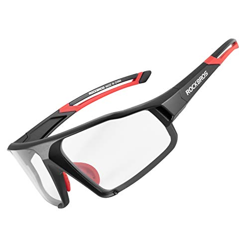 ROCKBROS Gafas Polarizadas/Fotocromáticas Deportivas Protección UV400 para MTB Ciclismo Running...*