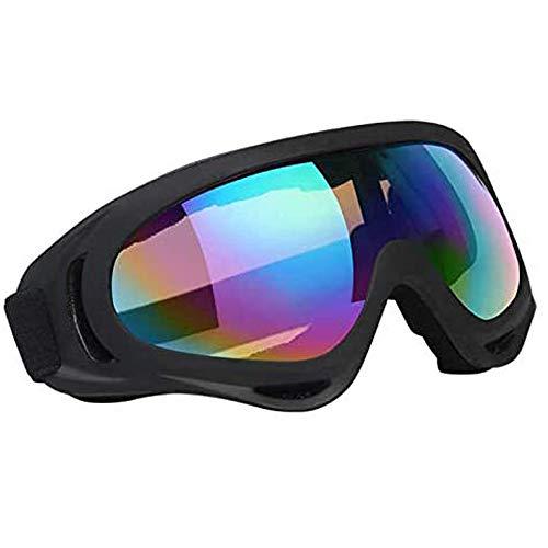 Vicloon Gafas de Nieve a Prueba de Viento UV400 Ciclismo Moto Snowmobile Ski Goggles Eyewear Deportes Gafas de Seguridad de protección