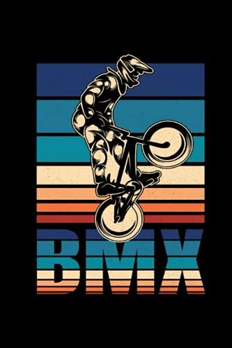 BMX Bicicleta Cuaderno de Notas: BMX Bicicleta Cuaderno de notas para ciclistas y niños - 120 páginas rayadas para citas, notas o como un diario   ca. DINA5   Regalo divertido