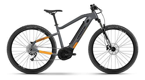 Haibike HardNine 4 Bosch 2021 - Bicicleta eléctrica (46 cm), color gris