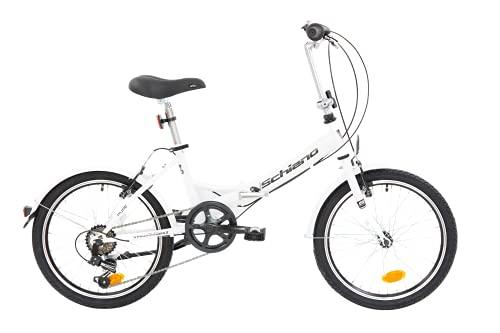 F.lli Schiano Pure Bicicleta, Adulto Unisex, Blanco-Negro, S*