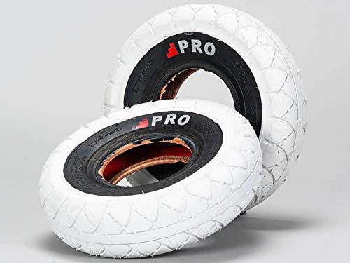 Rocker BMX Neumáticos Street Pro - Blanco/Blackwall con tubos libres