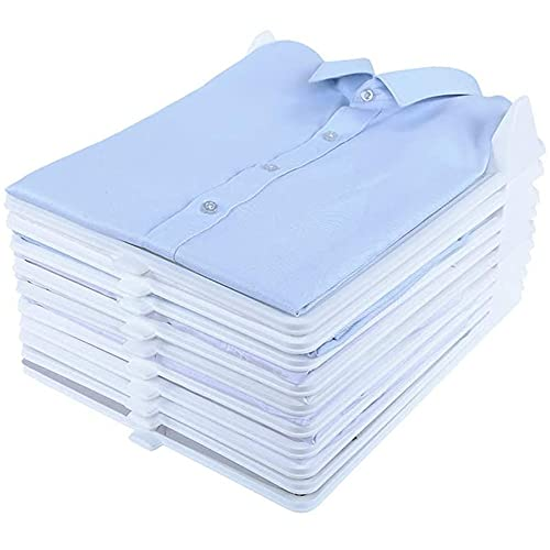 HJJ 10 Paquetes DURANTES Ropa de Vestuario apilable organizadores, Tablero de titulares de Carpetas...*