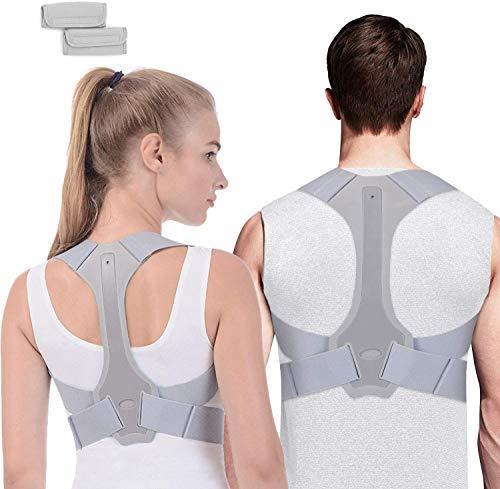 ANOOPSYCHE Corrector de Postura Espalda Hombros Para Hombre y Mujer Talla Asjustable Chaleco...*