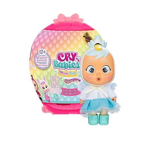 Bebés Llorones Lágrimas Mágicas Storyland Dress Me Up - Muñeca sorpresa coleccionable que llora...*
