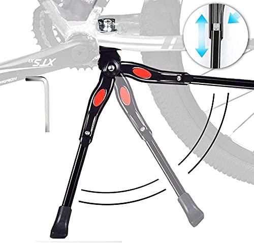 Caballetes para Bicicletas - Soporte de Bicicleta de Aleación Ajustable MTB con pie de Goma...*