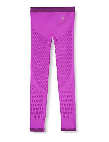 Odlo SUW Bottom Pant Performance Warm Kids Calzoncillo, Infantil, Purple Cactus Flower-Charisma, 152/164