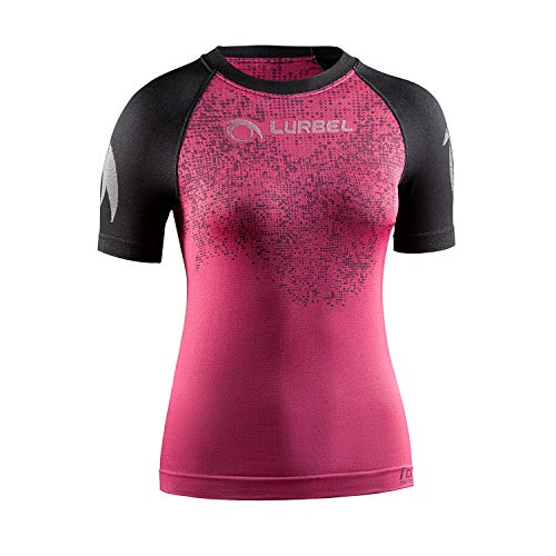 LURBEL Samba Pixel Woman, Camiseta de Trail Running, Camiseta Deportiva de Mujer, Camiseta...*