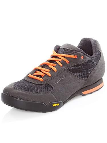 Giro Rumble Vr Mtb Zapatos de Bicicleta de montaña Hombre, Multicolor (Black/Glowing Red 000), 46...*