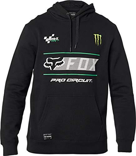 Fox Racing Sudadera de forro polar estándar Pro Circuit para hombre, 2XL, negro, XX*