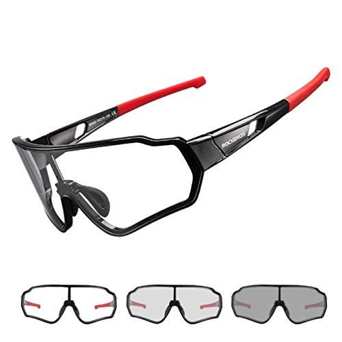 ROCKBROS Gafas Fotocromáticas/Polarizadas de Sol para Hombre y Mujer Protección UV400 para...*