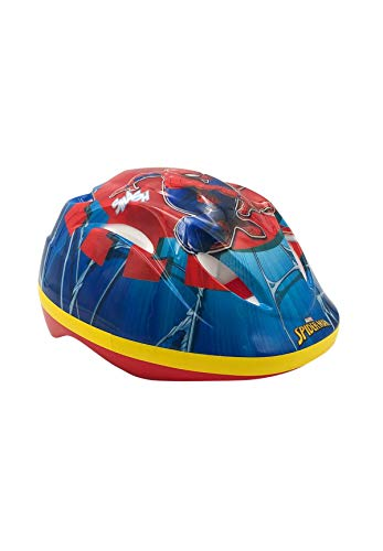 Spider-Man Casco de bicicleta bici para niños de la Patrulla Canina, talla 51-55 cm, aprobado por TÜV/GS