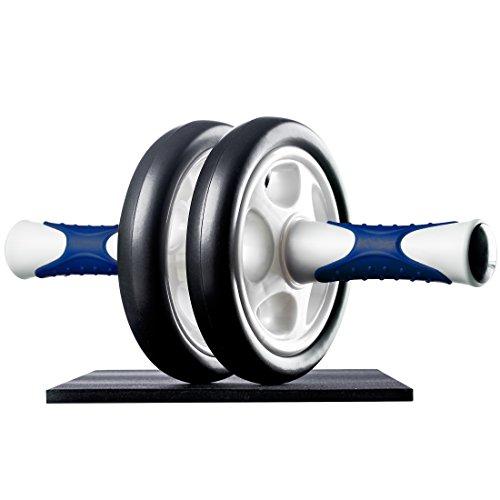 Ultrasport Aparato de abdominales AB Roller / AB Trainer con esterilla para las rodillas,ejercicios...*