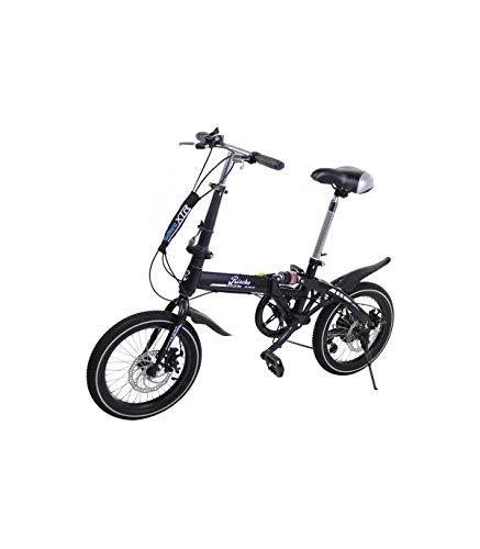 Riscko Wonduu Bicicleta Plegable Super Bike Bep-32 Negro*