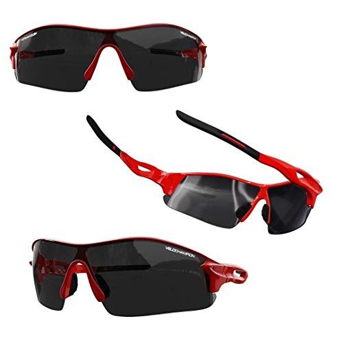 VeloChampion Kids Unisex Verano niño niña Junior Deportes Warp Ciclismo Moda Gafas de Sol Frescas...*