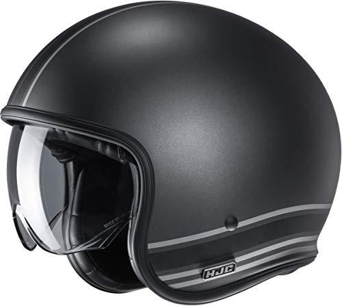 Casco de moto HJC V30 SENTI MC5SF, Negro, M