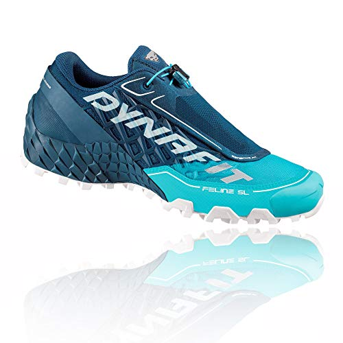 Dynafit Feline SL W, Zapatillas de Running Mujer, Poseidon/Silvretta, 40 EU
