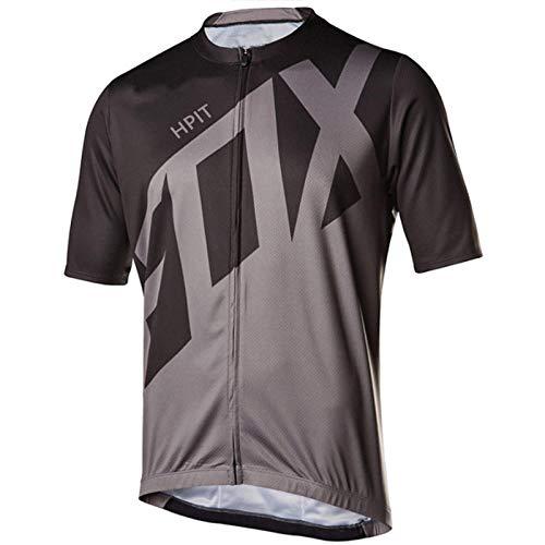PYMNDZ Camisetas de Ciclismo para hombre hpit fox, camisetas de manga corta para bicicleta, ropa de Ciclismo Jeresy para bicicleta MTB, Ropa Maillot Ciclismo-5XL