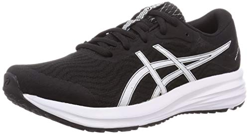 Asics Patriot 12, Sneaker Hombre, Black/White, 44 EU