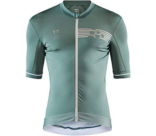 Craft Camiseta de Ciclismo para Hombre Aero Pack Jersey, Hombre, Camiseta de Ciclismo, 1908816-687000-6, Moss, Large