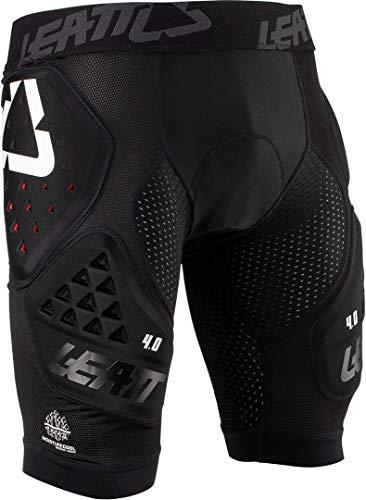 Leatt - Pantalones Cortos de Impacto 3DF 4.0, Color Negro, Talla de protección Unisex para Adulto