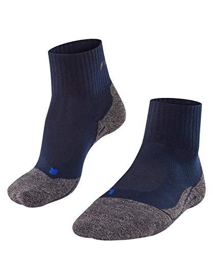 Falke Socken TK2 Short Cool Calcetines para Senderismo, Hombre, Marine, 44-45*