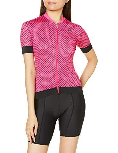 Briko Ultralight Lady Jersey Maillot Ciclismo Mujer, Fuchsia Bright Rose, L*