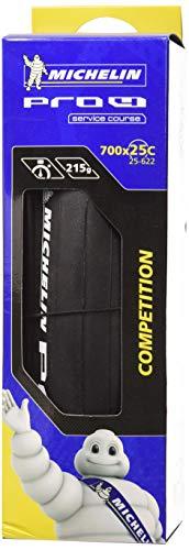 Michelin Pro 4 Cubierta para Bicicleta, Unisex Adulto, Negro, 700x23