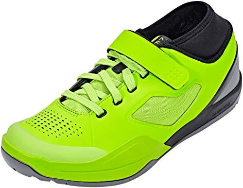 Shimano SH MTB AM701, Zapatillas de Ciclismo de Carretera Unisex Adulto, Verde, 39 EU*
