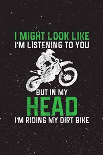 Yearly Planner - Dirt Bike Motocross Enduro Funny Quote Motorcycle Biker