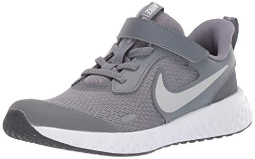 Nike Revolution 5 (GS), Zapatillas de Correr, Gris (Cool Grey/Pure Platinum/Dark Grey), 39 EU