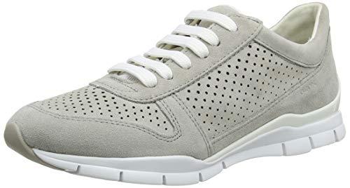 Geox D Sukie B, Zapatillas Mujer, Gris (Lt Grey C1010), 37 EU*