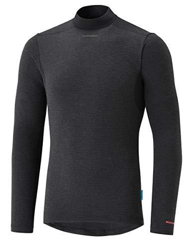 SHIMANO Camiseta Interior SH Transpir Neg T-M, Unisex Adulto*