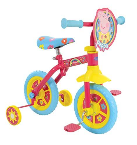 Peppa Pig M004176 2in1 - Entrenamiento para bicicleta, 25,4 cm, multicolor*