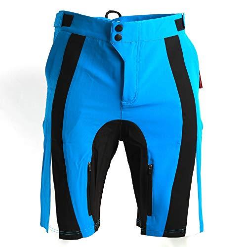 AYGANG Mens al Aire Libre Ciclismo MTB Downhill Mountain Bike Shorts Pantalones Cortos Desgaste de la Bicicleta Jersey Personalizada culots para Bici Hombre 661 (Color : Color 4, Size : XXL)
