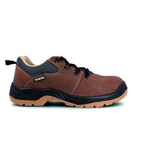 Paredes LM418 MA43 Zapatos de Trabajo, Marrón, 43
