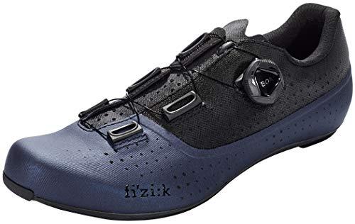 fizik Tempo Overcurve R4 - Zapatillas de ciclismo para hombre, azul y negro, 44 EU*