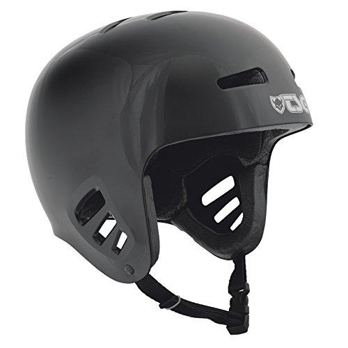 TSG Helm Dawn Solid Color, Unisex, Negro, L/XL*