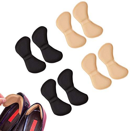 EQLEF® 4 pares talón de las plantillas del zapato evitar rozaduras talón de los zapatos de tacón...*
