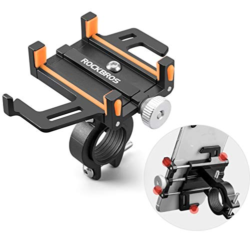 ROCKBROS Soporte Móvil para Bicicleta Moto, Rotación 360° Soporte Universal de Aleación de...*