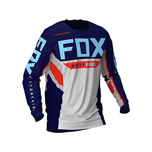 PYMNDZ Jerseys de descenso para hombre hpit fox Camisas MTB de bicicleta de montaña Offroad DH...*