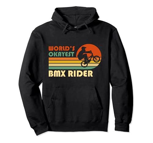El piloto de BMX más bueno del mundo - Divertido deporte Sudadera con Capucha*