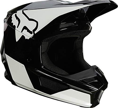 Fox V1 Revn Helmet Black/White M