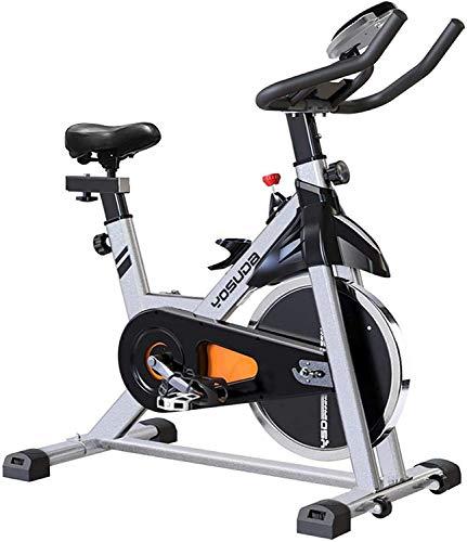 Bicicleta estática de ciclismo Yosuda para interior con soporte para iPad y asiento cómodo,...*