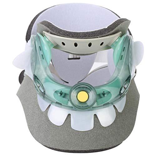 Protector de cuello Dispositivo de tracción cervical ajustable Herramienta de recuperación del cuidado del cuello para aliviar el dolor de cuello de vértebras
