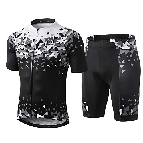 INBIKE Ropa Ciclismo Hombre Verano Trajes de Ciclismo Equipacion Bicicleta Maillot MTB+ Culote...*