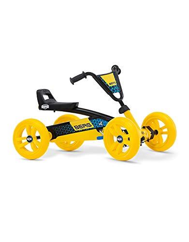 BERG Pedal Gokart Buzzy BSX | Coche de Pedales, Seguro y Estabilidad, Juguete para niños Adecuado para niños de 2 a 5 años