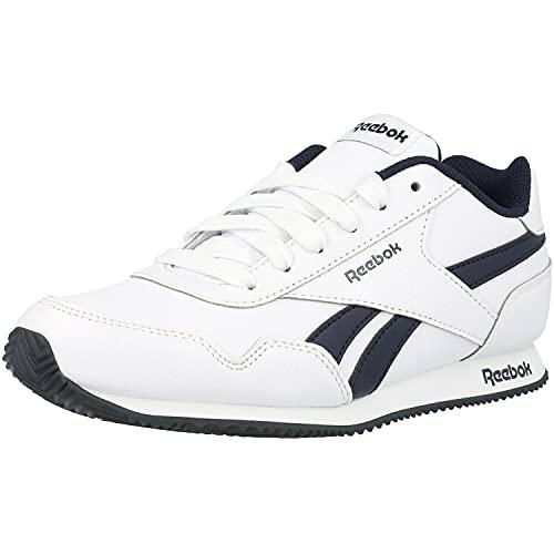 Reebok Royal CLJOG 3.0, Zapatillas de Running, Blanco/Maruni/Blanco, 35 EU